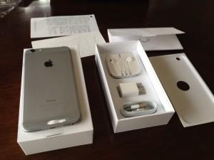 iPhone6Plus 箱の中身