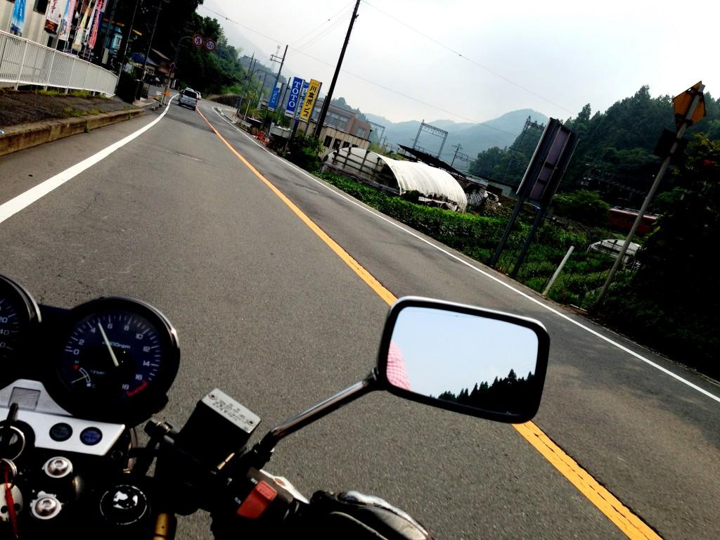 バイクの乗り方発射