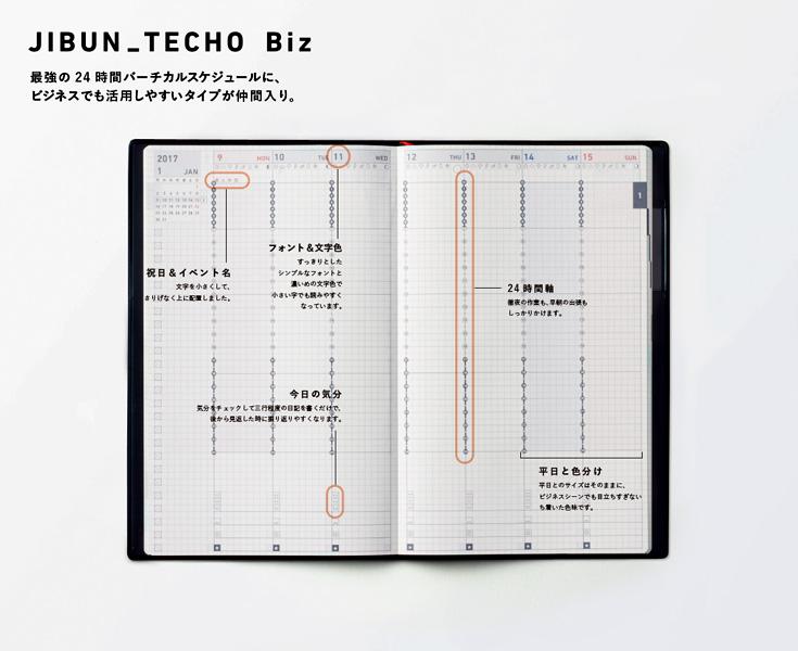 ジブン手帳 新作